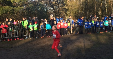 26 januari: 3de cross pupillen en junioren