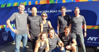 AV'23 liep mee met de New York City Marathon