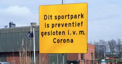 Corona-update 1 van het bestuur