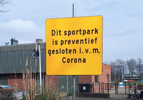 Corona-update 2 van het bestuur