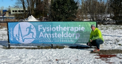 Nieuwe sponsor: fysiopraktijk Amsteldorp